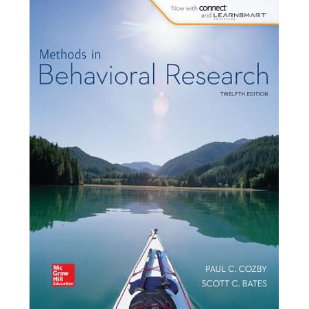 Methods in Behavioral Research (Research Methods For The Behavioral Sciences 3rd Edition)