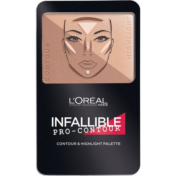 L'Oreal Paris Infallible Pro Contour Palette, Medium