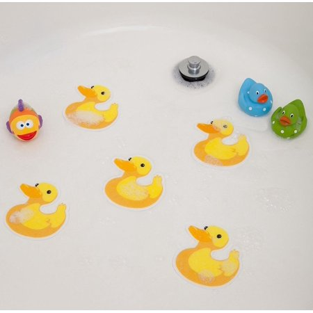 Bathtub Stickers Ducks - Safety Decals Treads Non Slip Anti-Skid Shower Applique, Bathtub Sticker - Duck By SlipDoctors - Oregon Ducks Stickers