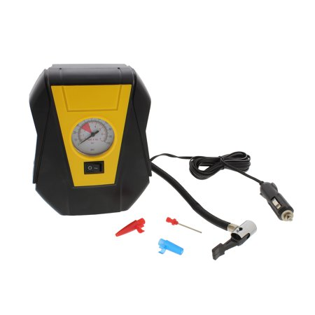 ABN Portable Air Compressor Tire Inflator Pump 12V Pressure Gauge 100 PSI 7 (Best 12v Air Compressor)