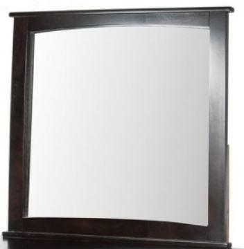 Brooklyn Transitional Mirror, Espresso