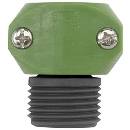 Image of 0.63 x 75 in. Green Thumb Poly Male Hose Coupler