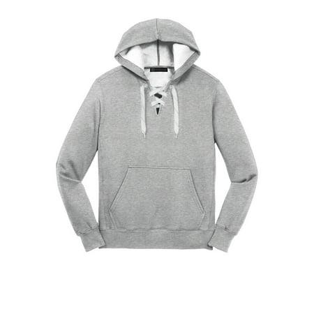 Mato   Hash - Lace Up Pullover Hooded Sweatshirt - MH - Heather Grey  MHST271SA XL - Walmart.com d0ea11307