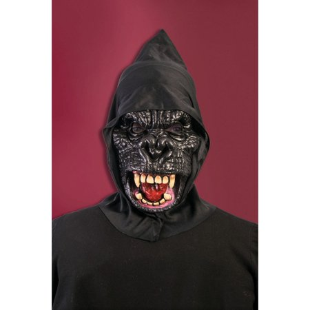 Halloween Promotional Hooded Gorilla Mask