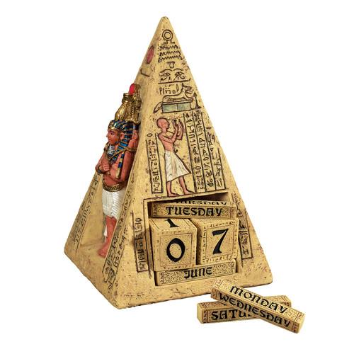 Design Toscano Egyptian Icons Perpetual Calendar Statue