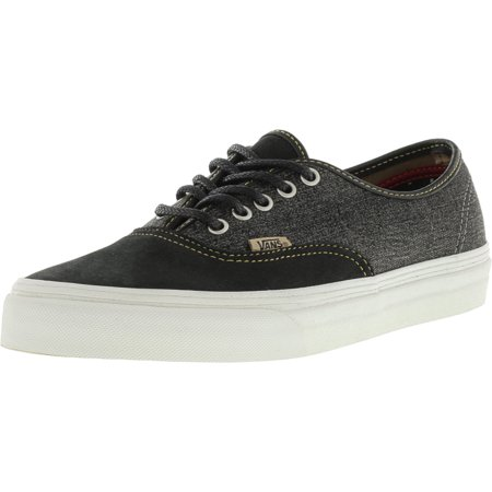 Vans Authentic + Utilitarian Black   Blanc De Ankle-High Canvas  Skateboarding Shoe - 8.5 a370b9b2b