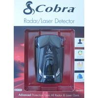 Cobra ESR800 12 Band Radar / Laser Detector with LED Icons & Voice Alert