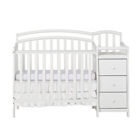 Dream On Me Casco 4-in-1 Mini Crib and Dressing Table