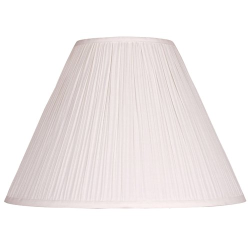 """Better Homes and Gardens 15"""" Off White Soft Pleated Empire Shade"""