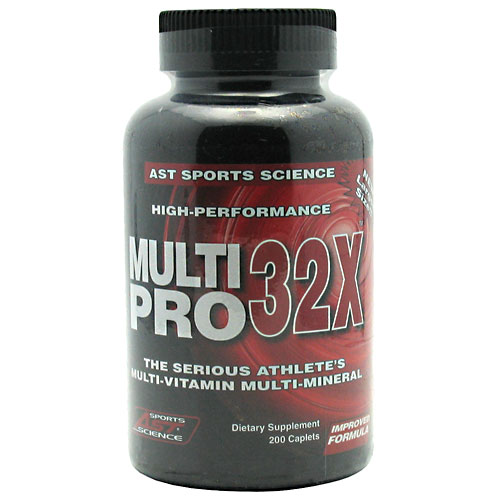 AST Multi Pro 32X, High-Performance Caplets, 200-Count