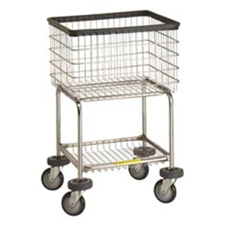 - R&B Wire 300G Deluxe Elevated Wire Frame Metal Laundry Cart