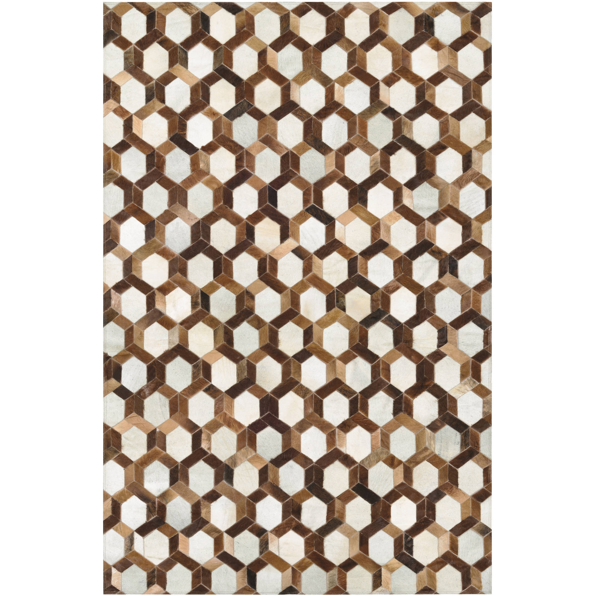 Couristan Chalet Spectrum/Ivory-Brown Rug