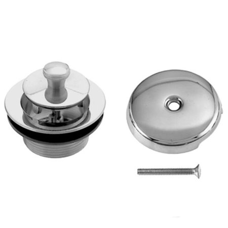 Westbrass D94-01 Twist and Close Trim Set with Coarse Thread Strainer - PVD Polished Brass - image 1 of 1