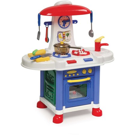 Badger Basket Junior Electronic Play Kitchen with Accessories