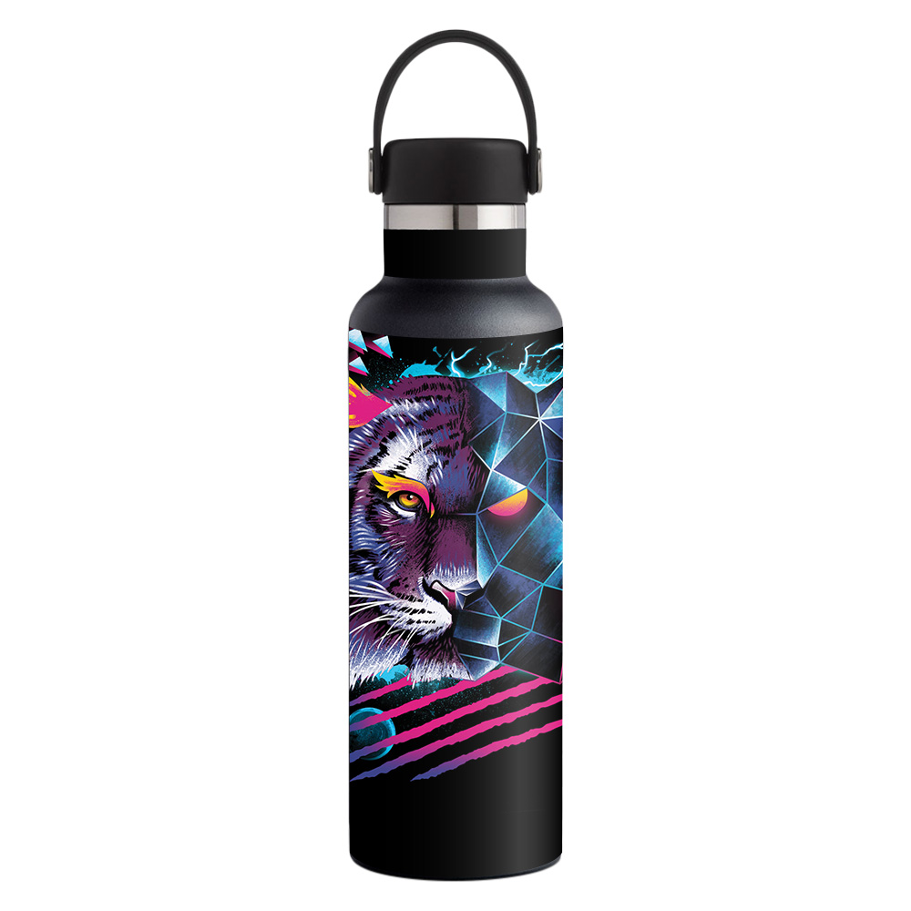 MightySkins Skin for Hydro Flask 21 oz. Standard Mouth - Alpaca Kawaii   Protective, Durable, and Unique Vinyl Decal wrap cover   Easy To Apply, Remove, and Change Styles   Made in the USA