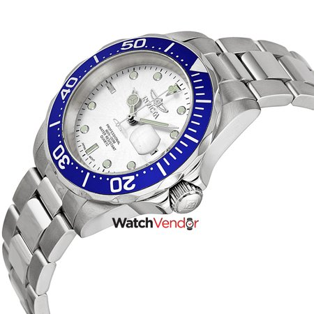 Invicta Pro Diver Silver Dial Stainless Steel Men's Watch 14123 - image 3 de 4