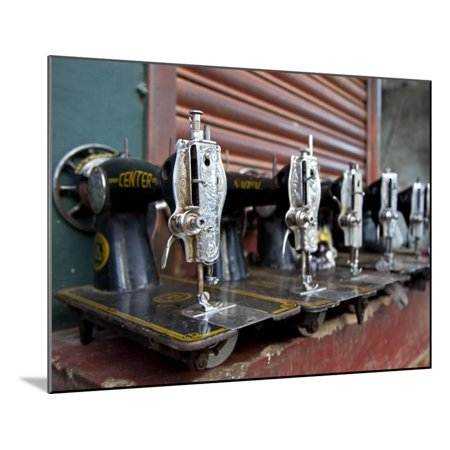 India Mysore RecentlyRepaired Sewing Machines Outside A Sewing Magnificent Sewing Machine Repair Tools