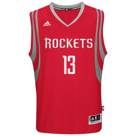 James Harden Houston Rockets Adidas NBA Swingman Jersey Red by