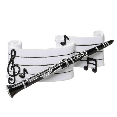 CLARINET Personalized Christmas Tree Ornament DO-IT-YOURSELF ()