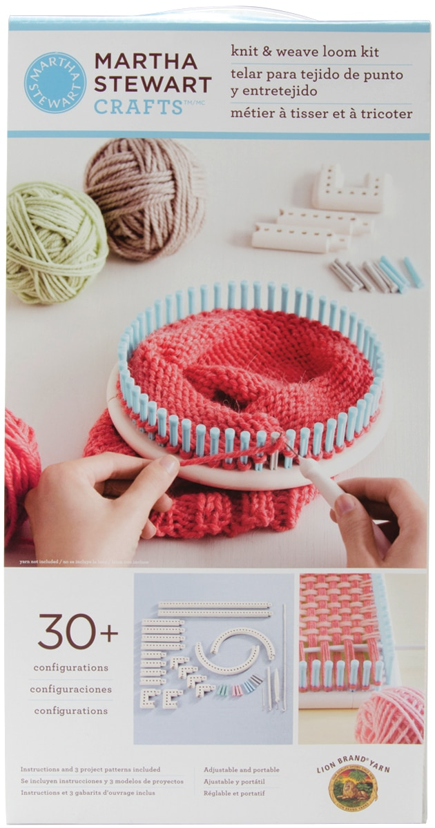 Martha Stewart Crafts Knit Weave Loom Walmart