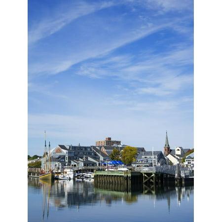 Pickering Wharf, Salem, Greater Boston Area, Massachusetts, New England, USA Print Wall Art By Richard - Salem Boston Halloween