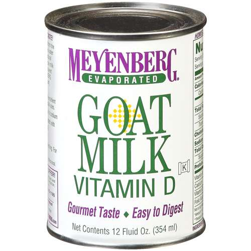 (3 Pack) Meyenberg Evaporated Vitamin D Goat Milk, 12 fl oz