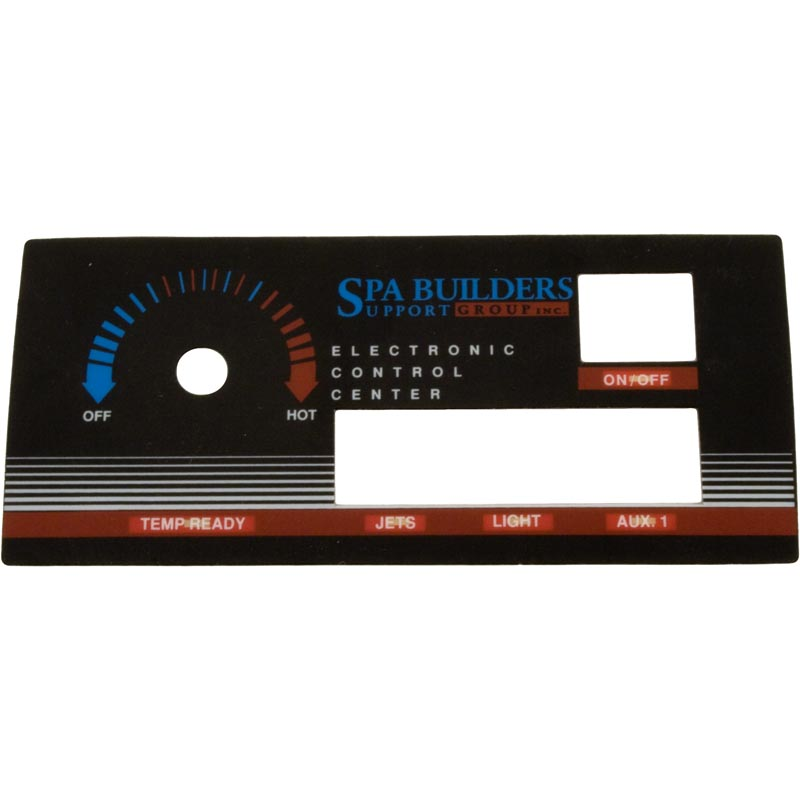 Overlay, Ramco ST-1200R, 4 Button