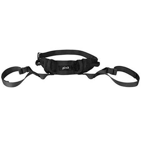 Pivit Transfer Lift Belt with Leg Loops | Medical Nursing Safety Gait Assist Device | Bariatrics Pediatric Elderly Occupational & Physical Therapy | Long Strap & Quick Release Metal Buckle | 55