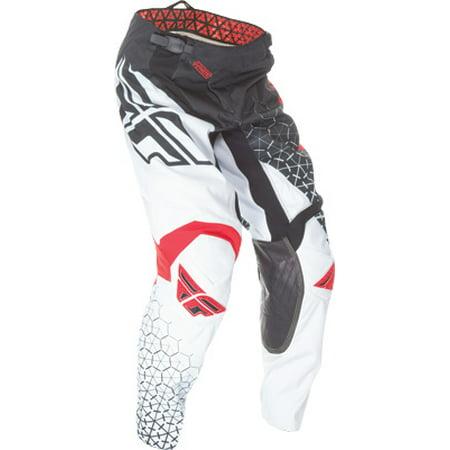 35c0a4c4bb5f Fly Racing Kinetic Trifecta Pants Black White Red 28-Short 369-43428S -  Walmart.com