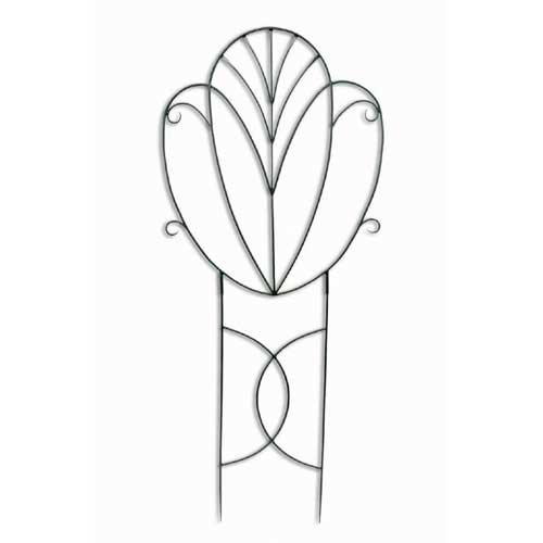 Achla Designs Fan Back Garden 6.75-ft. Iron Wall Trellis by Minuteman/Achla Designs
