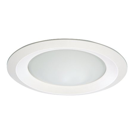 Halo 6150WH Self Flanged 6 Inch Frosted Dome Lens Shower Light Trim Round