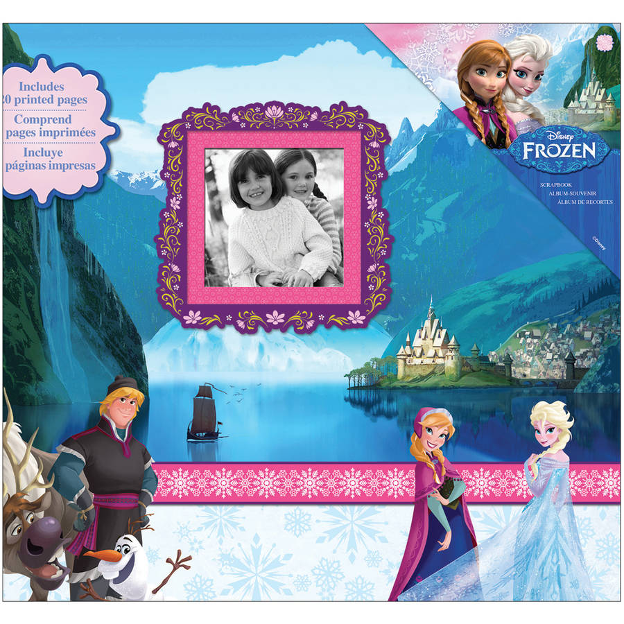 "Disney Frozen Post Bound Album, 12"" x 12"""