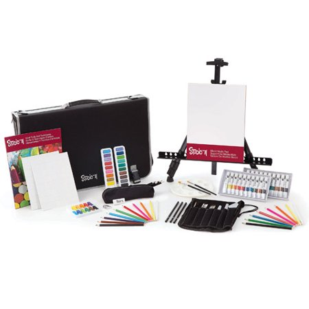 Studio 71 All Media Art Set with Easel: 101 (101 Piece Set)