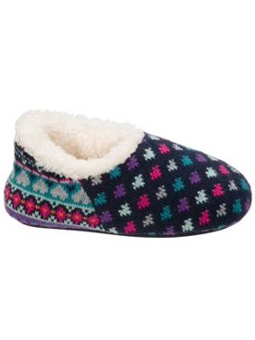 7d75b0dfeebe81 Product Image DF by Dearfoams Girls  Sweater Knit Shootie Slippers