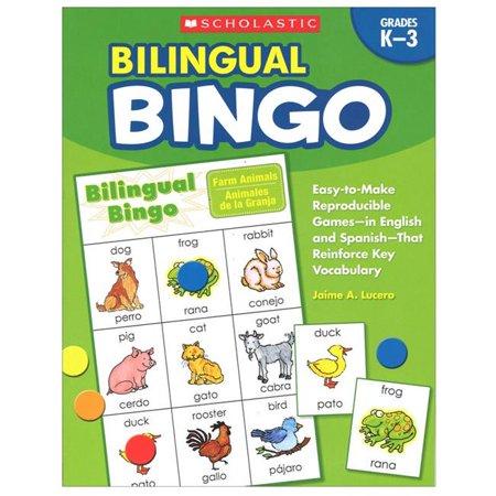 Scholastic Teaching Resources SC-9780439700672BN 2 Each Bilingual Bingo Vendor Foreign Language Games & Flash Cards - image 1 of 1