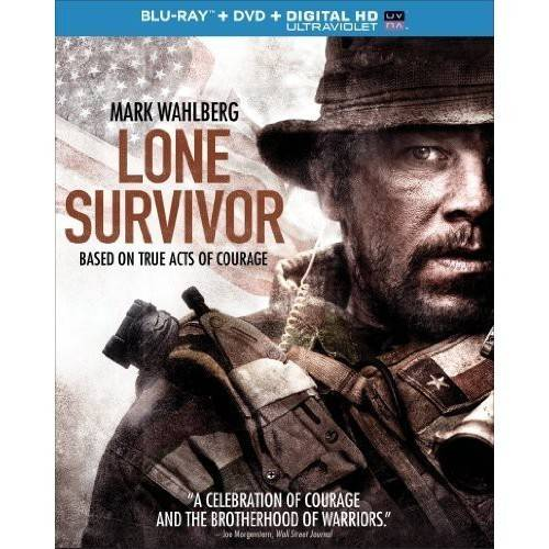 LONE SURVIVOR (BLU RAY/DVD W/DIGITAL HD W/ULTRAVIOLET COMBO) (2DISCS)