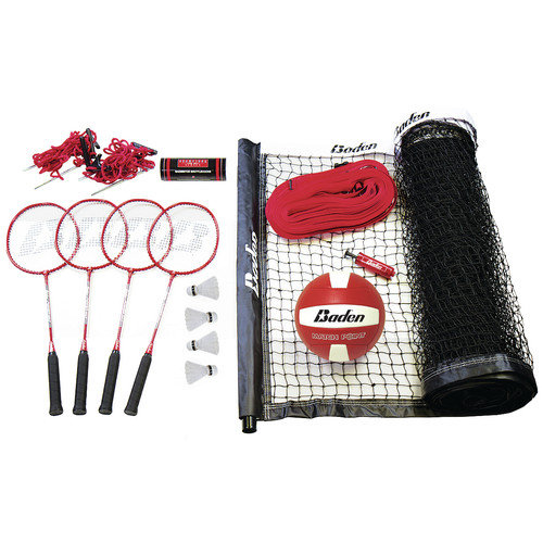 Baden Champions 22 Piece Badminton & Volleyball Set