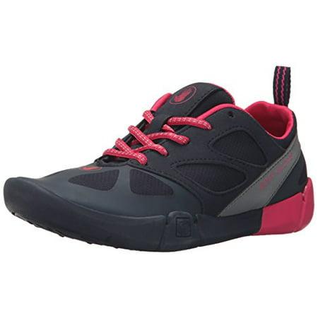 Foot Gloves Shoes - Body Glove Women's Swoop running Shoe, Dark Blue/Pink, 8 M US
