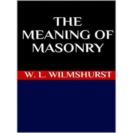 The meaning of masonry - - General Purpose Masonry