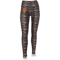 Women's Black/Orange San Francisco Giants Space Dye Leggings