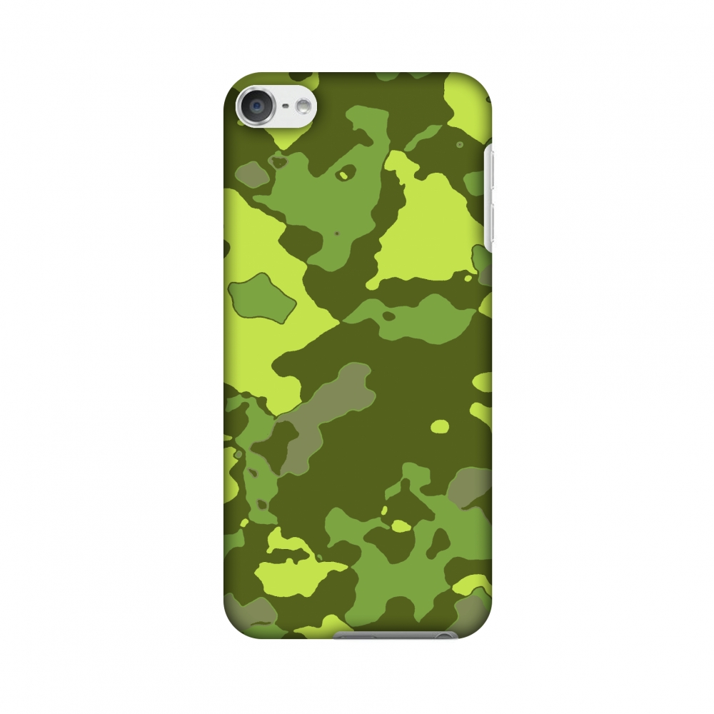 Neon Green Amzer Snap On Hard Shell Case Cover for Apple iPod Touch 5G