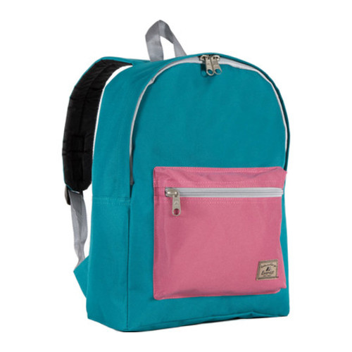 Everest Basic Color Block Backpack (Set of 2)