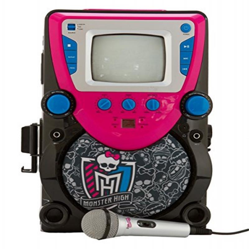Monster High Karaoke Machine with Screen by Sakar International- http://www.sakar.com