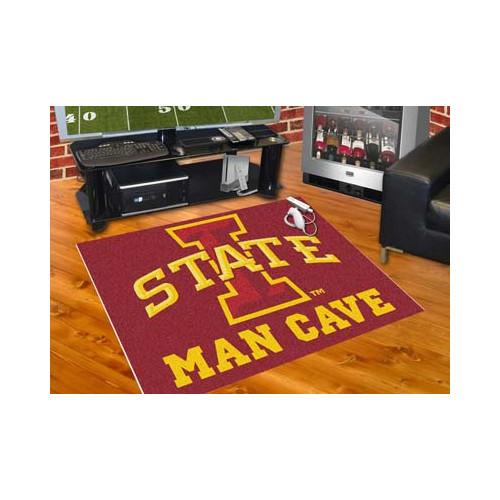 """Iowa State Man Cave All-Star Mat 33.75""""x42.5"""""""