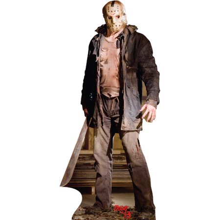 Cardboard Stand Up (Advanced Graphics Jason  Voorhees Knife - Friday 13th 2009 Cardboard)