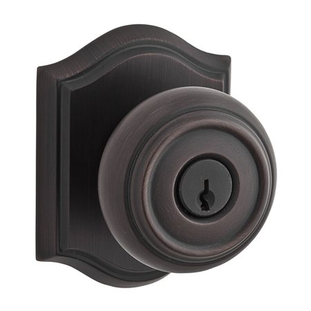 Type Baldwin Hardware (Baldwin Hardware EN.TRA.T Reserve Traditional Keyed Entry Knob with Traditional Rose )