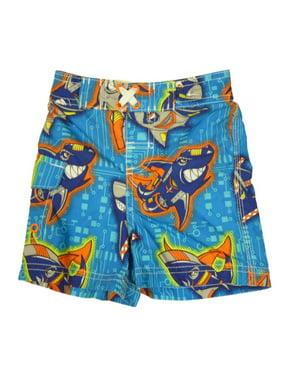 Joe Boxer Infant & Toddler Boys Blue Shark Swim Trunks Board Shorts