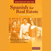 Spanish for Real Estate - Audiobook