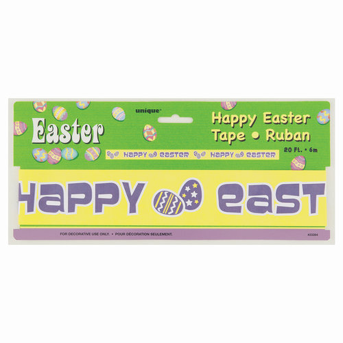 Plastic Easter Egg Hunt Tape, 20'