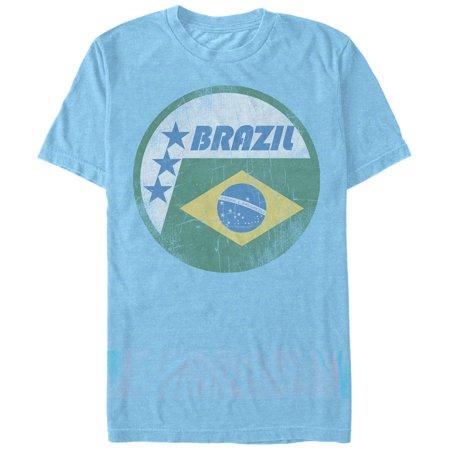 Men's Brazil Flag Circle T-Shirt ()
